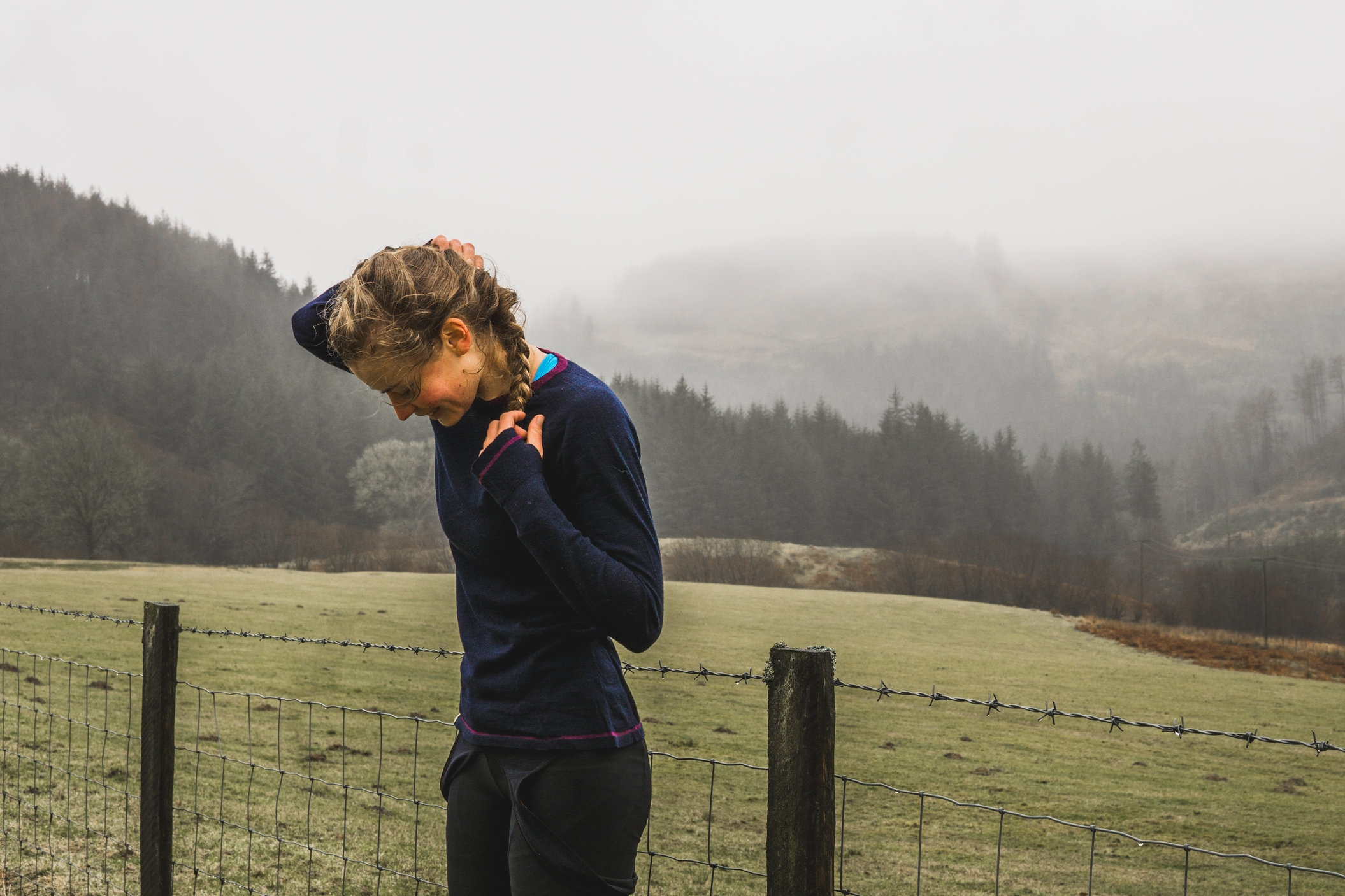 The FIndra BaseLayer in Wales, Shot by  Josh Brooks