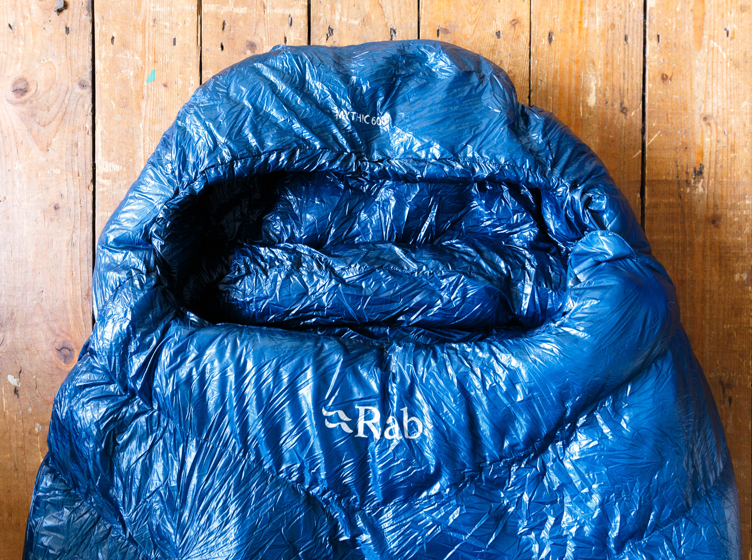 The Rab Mythic 600 sleeping bag