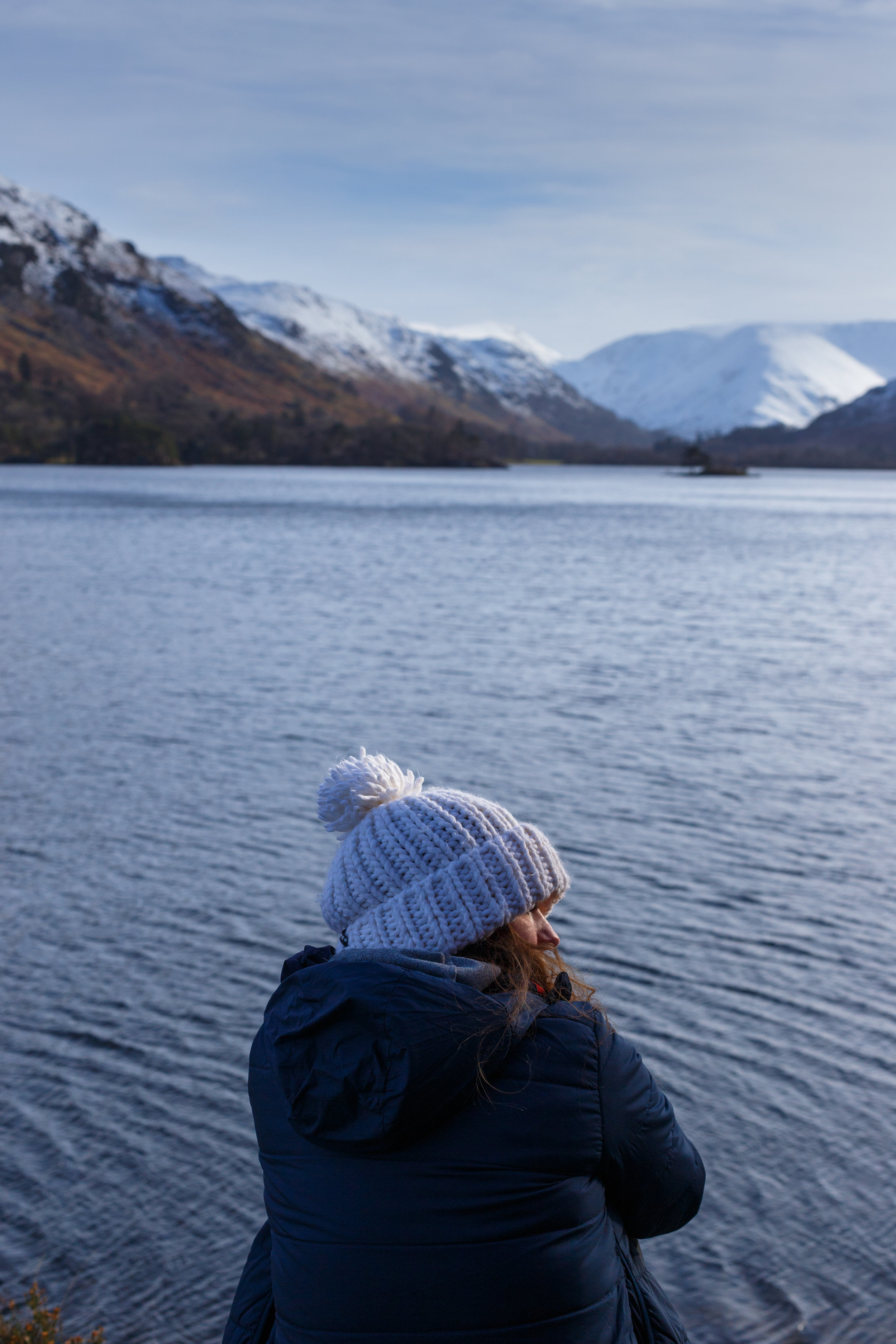 Bex admiring the view