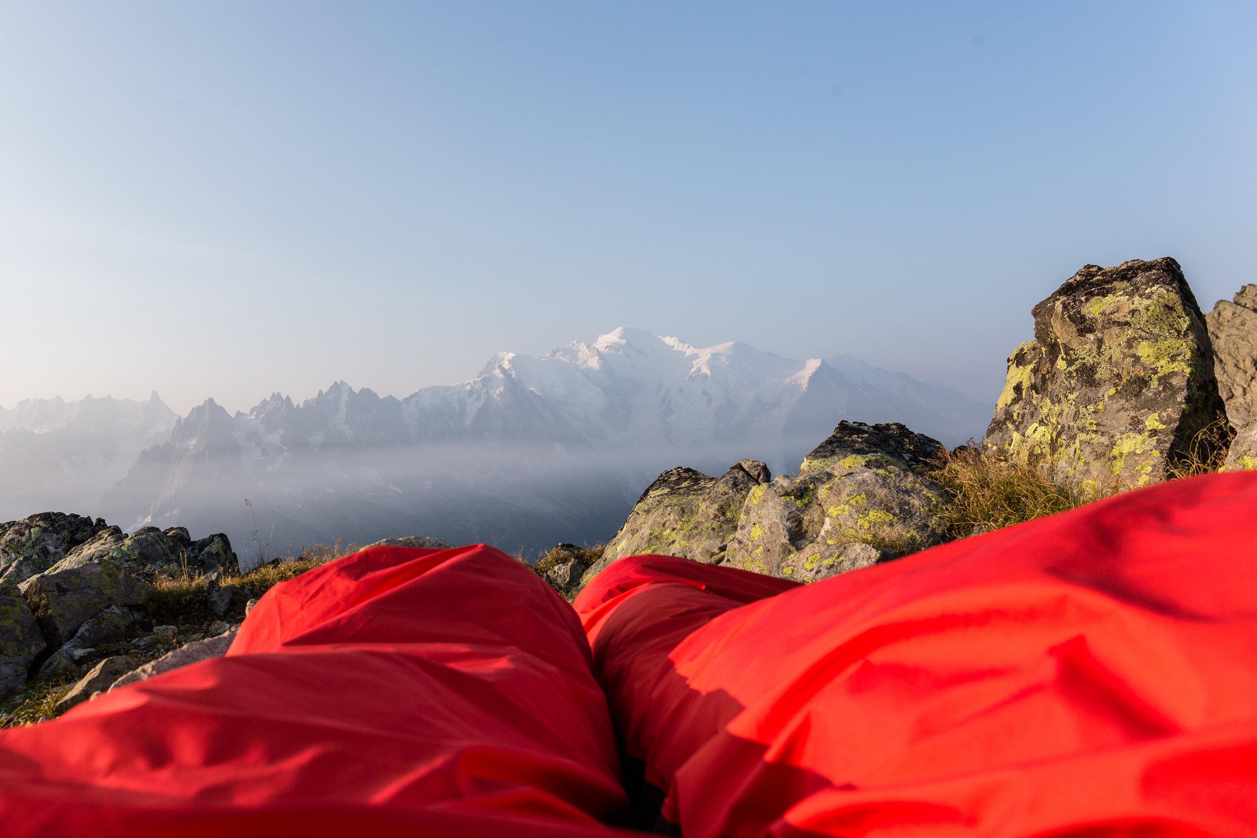The Rab Alpine Bivi in the Alps