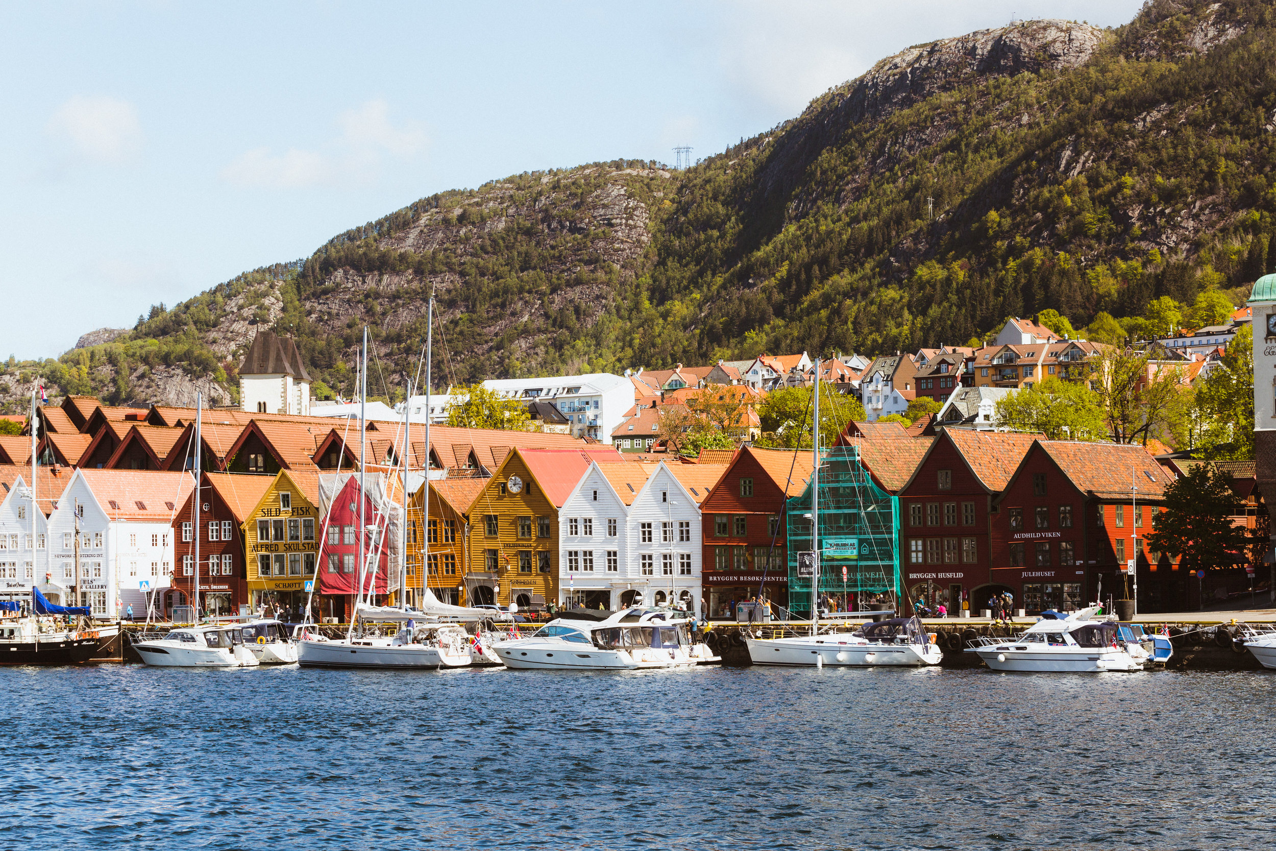 Bergen's beautiful harbour