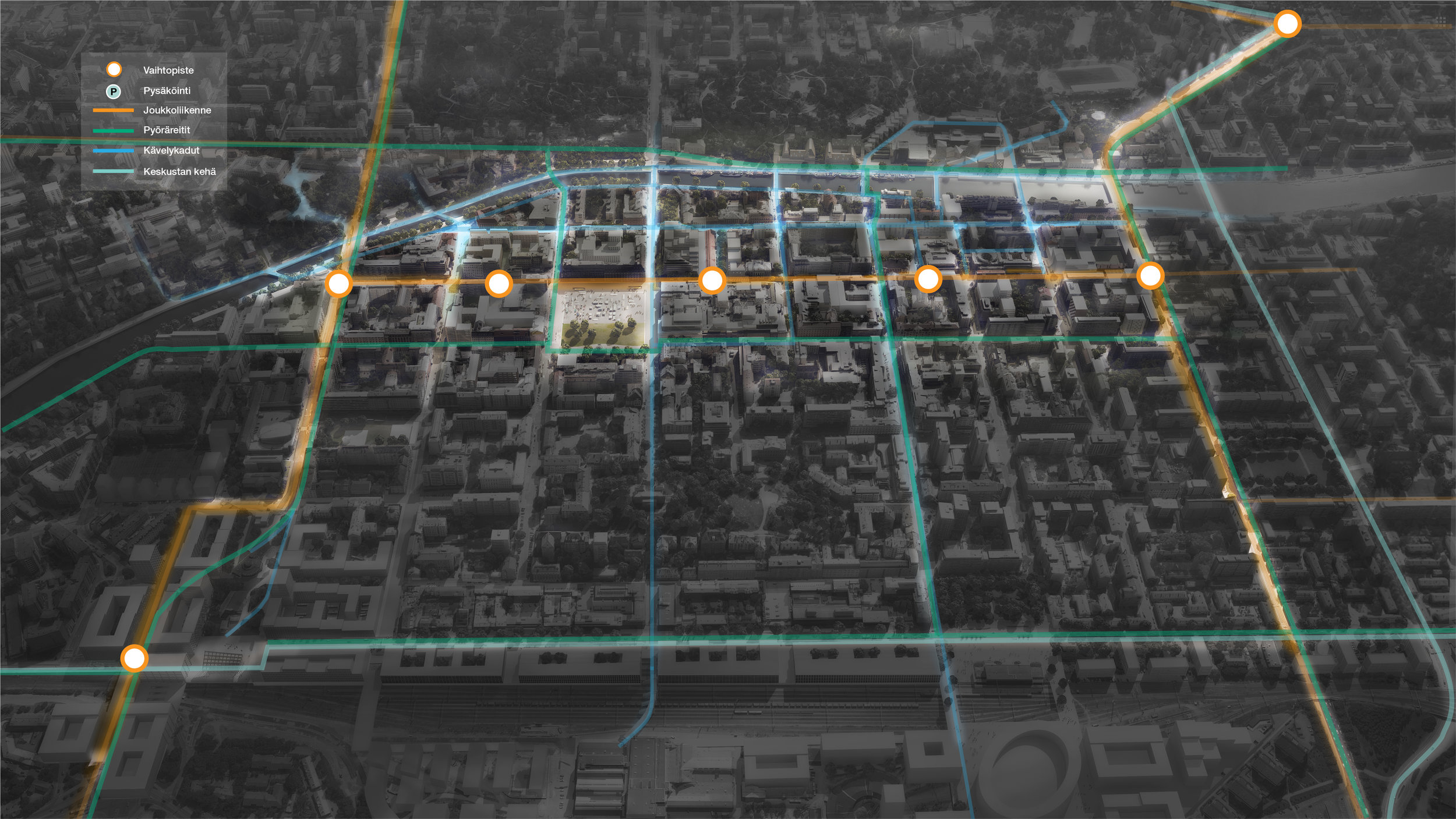 A vision for the future traffic network of Turku