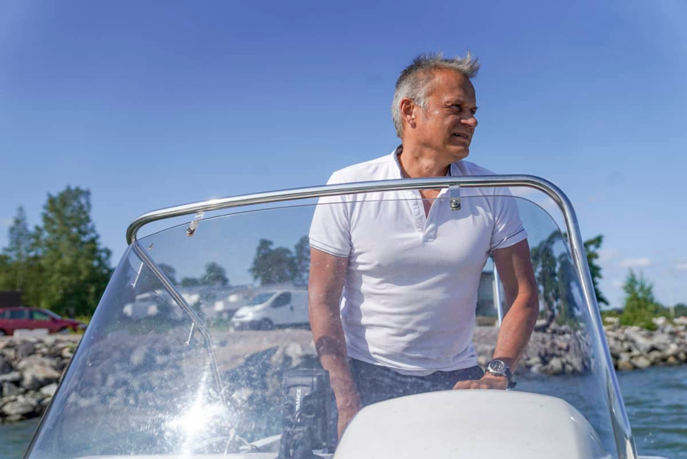Markku Wilenius likes to spend his time off on an island in the Gulf of Finland. The futurist leaves the city for the simple life as soon as the ice clears.