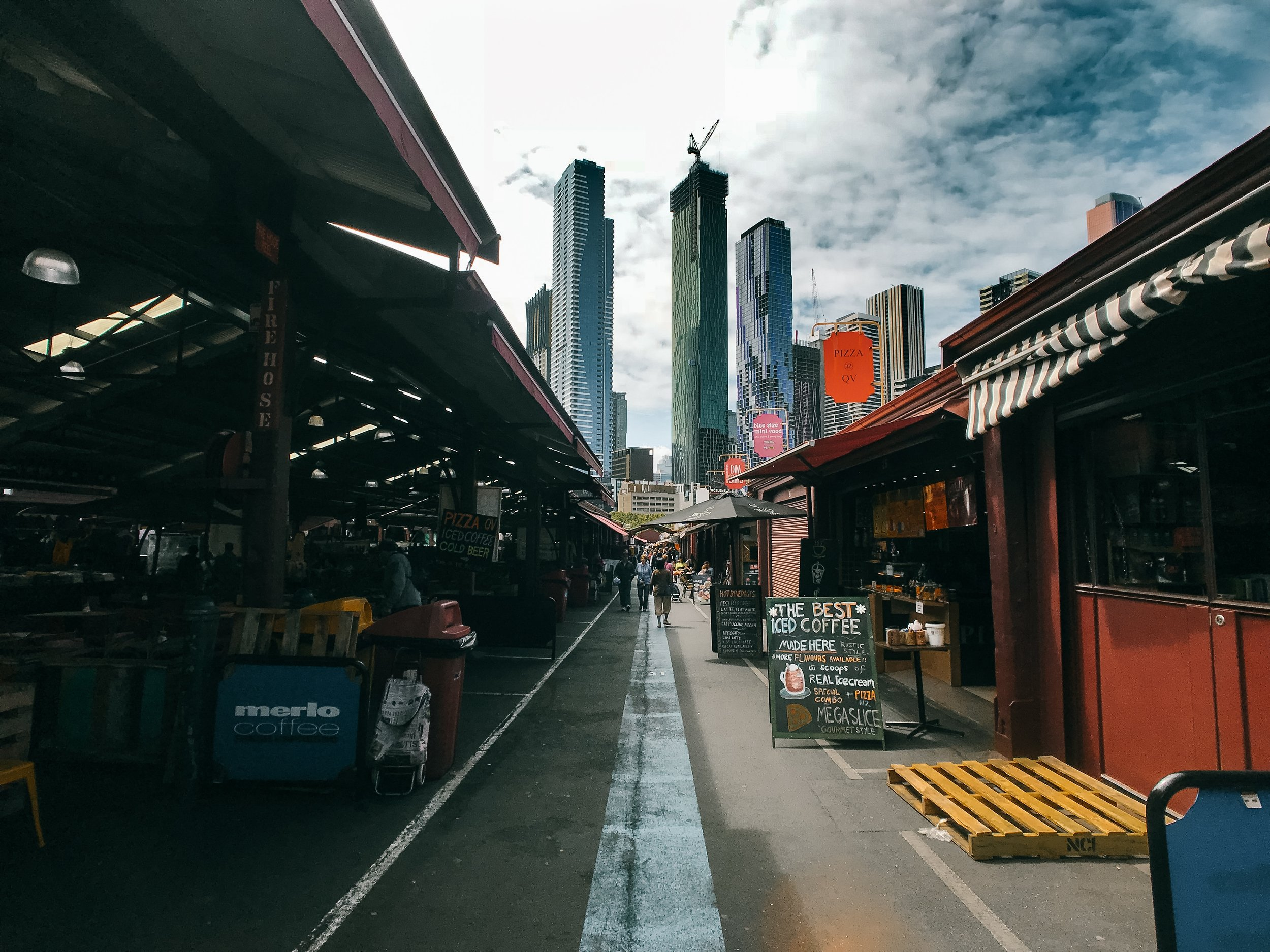 Inside the Queen Victoria Market, Melbourne. Photo by Shawn Ang