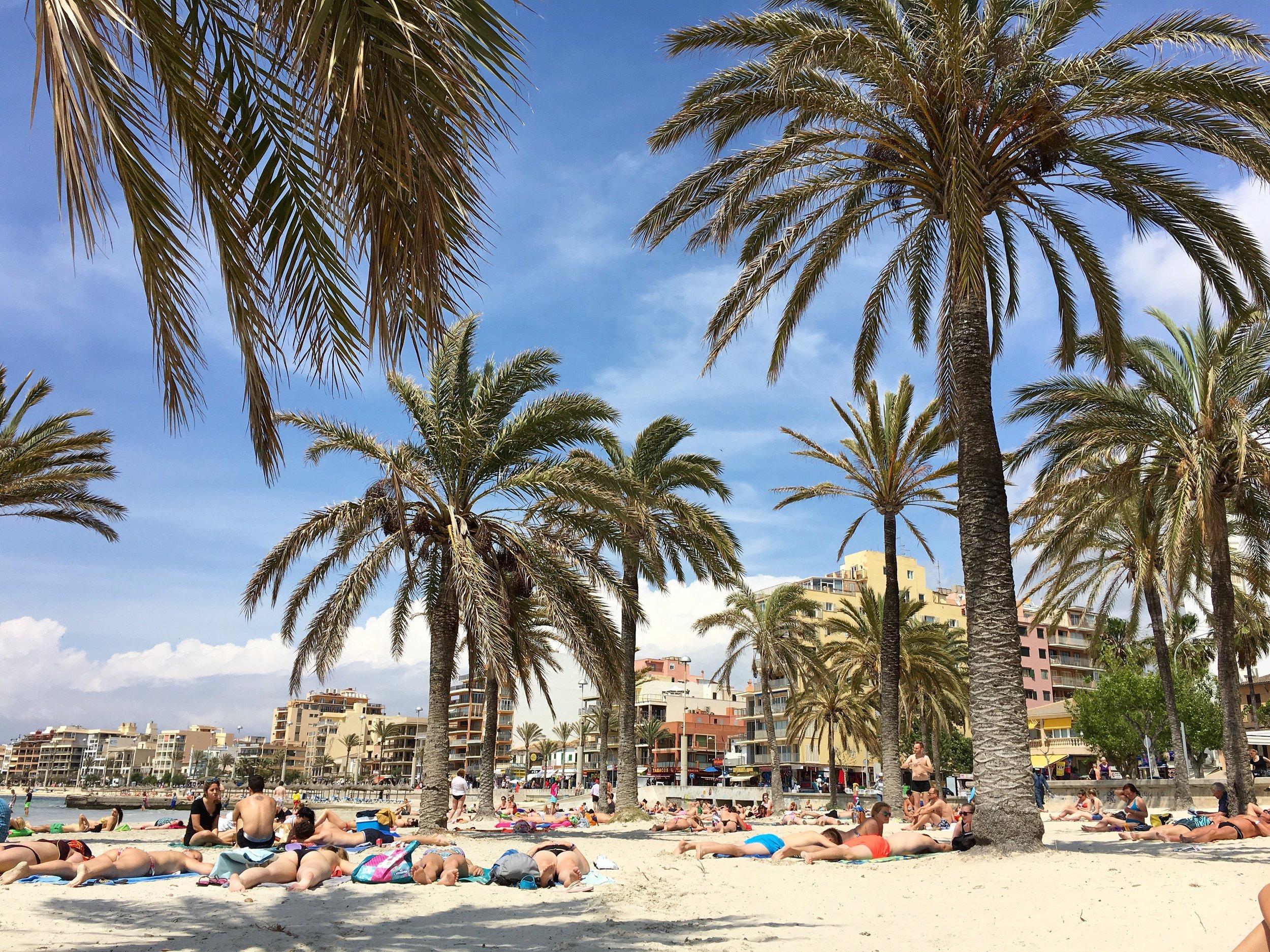 El Arenal playa- Mallorca, Spain