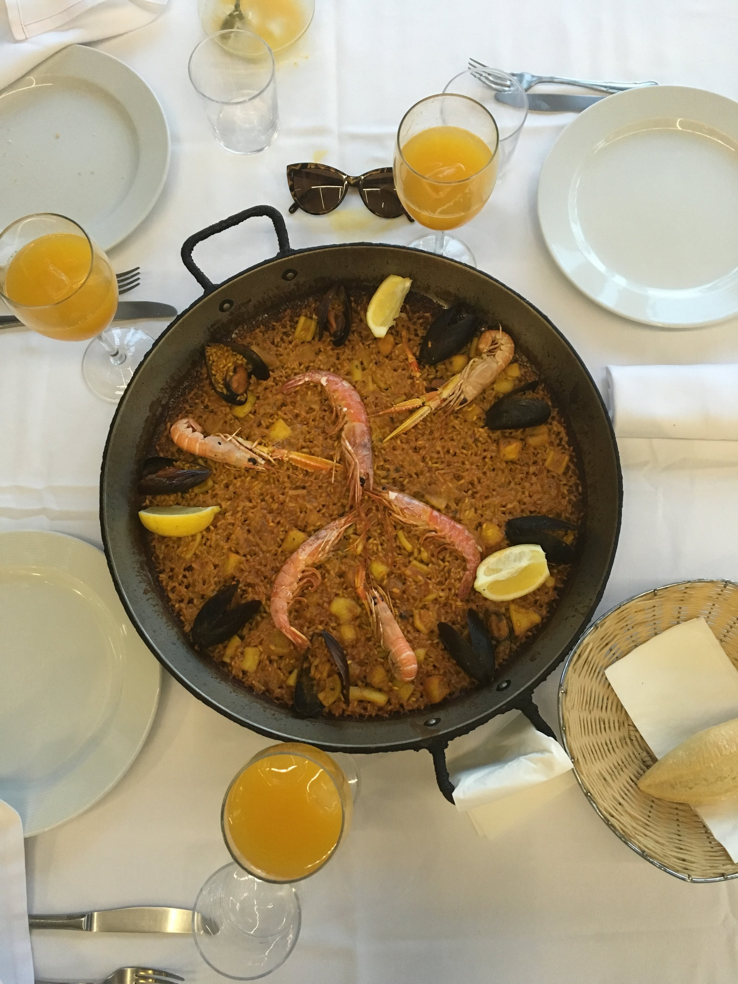 Paella--A famous Spanish dish- Valencia, Spain