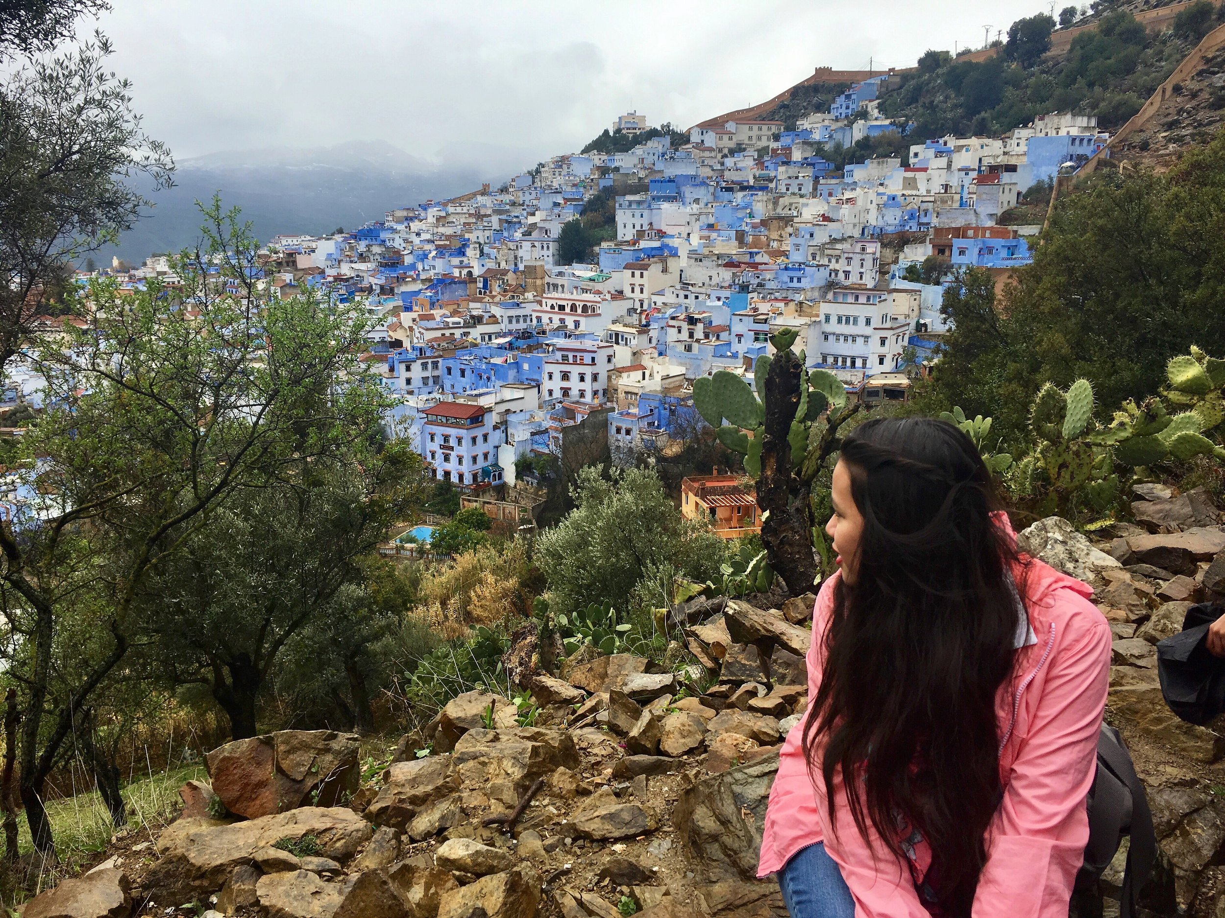 Chefchaouen, Morocco, Africa –tickets to northern Africa for 40 euros or less (leaving from Spain)
