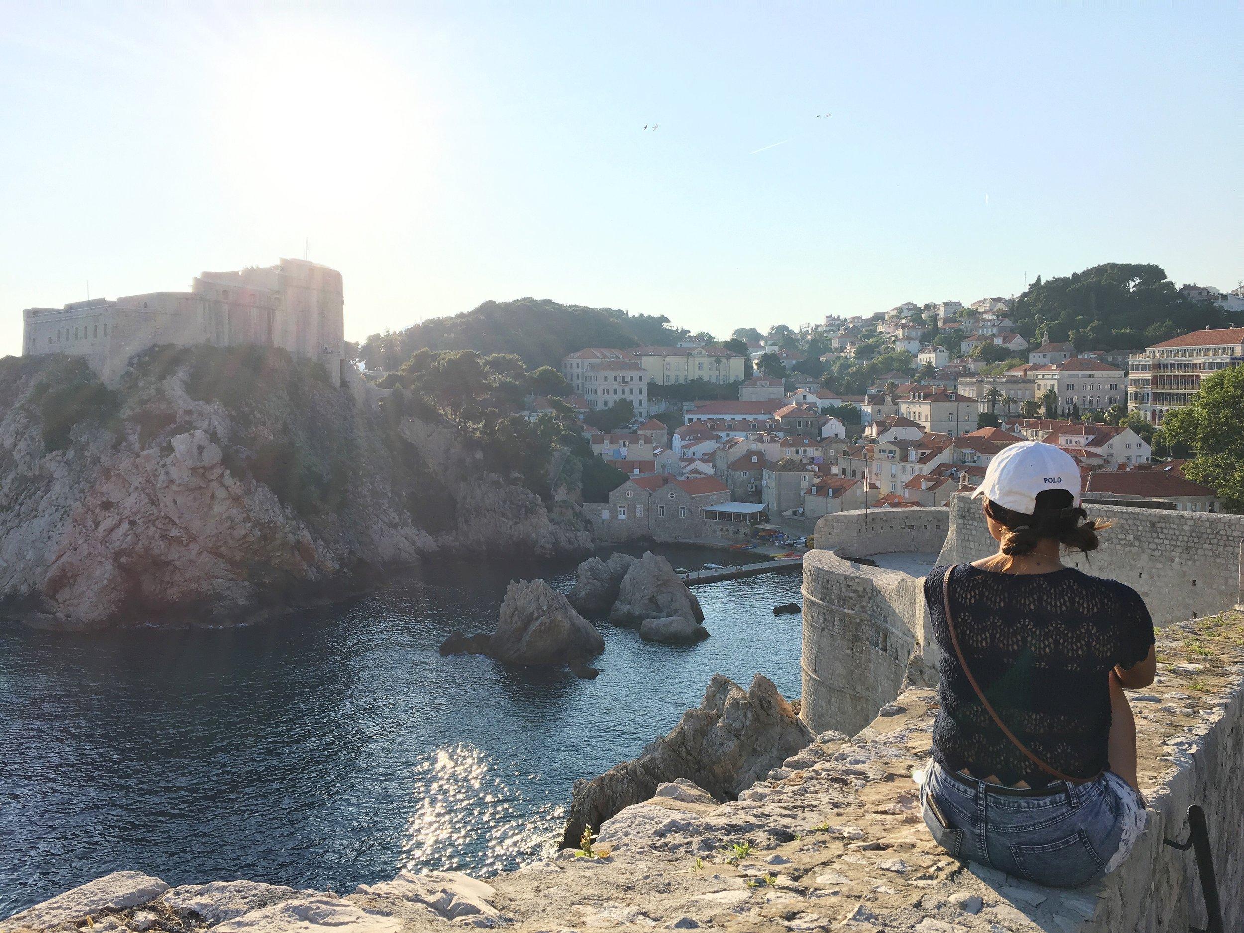 Old City Walls– Dubrovnik, Croatia
