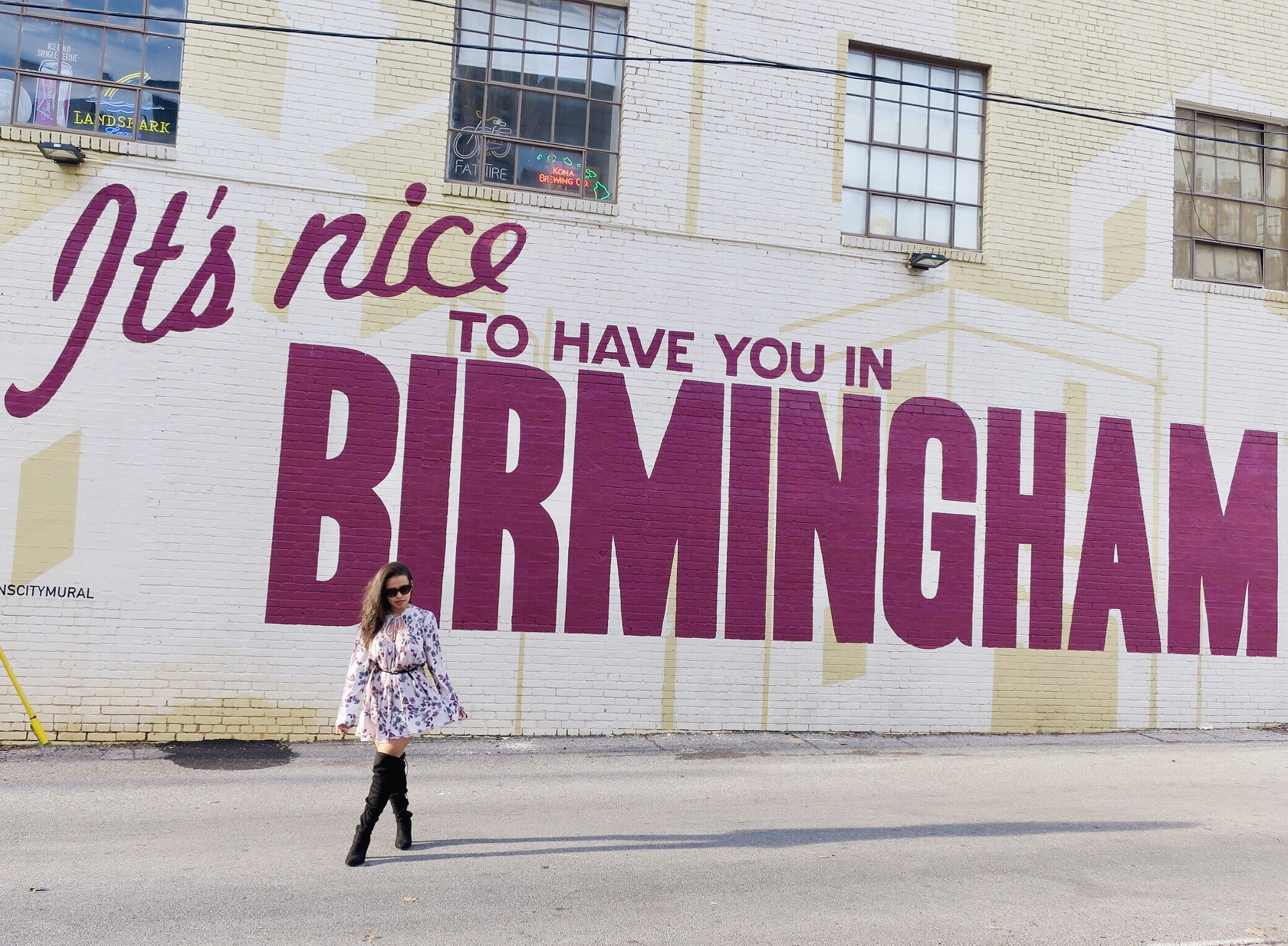 Birmingham, AL –scored a 120$ RT ticket to ATL and drove to Bham!