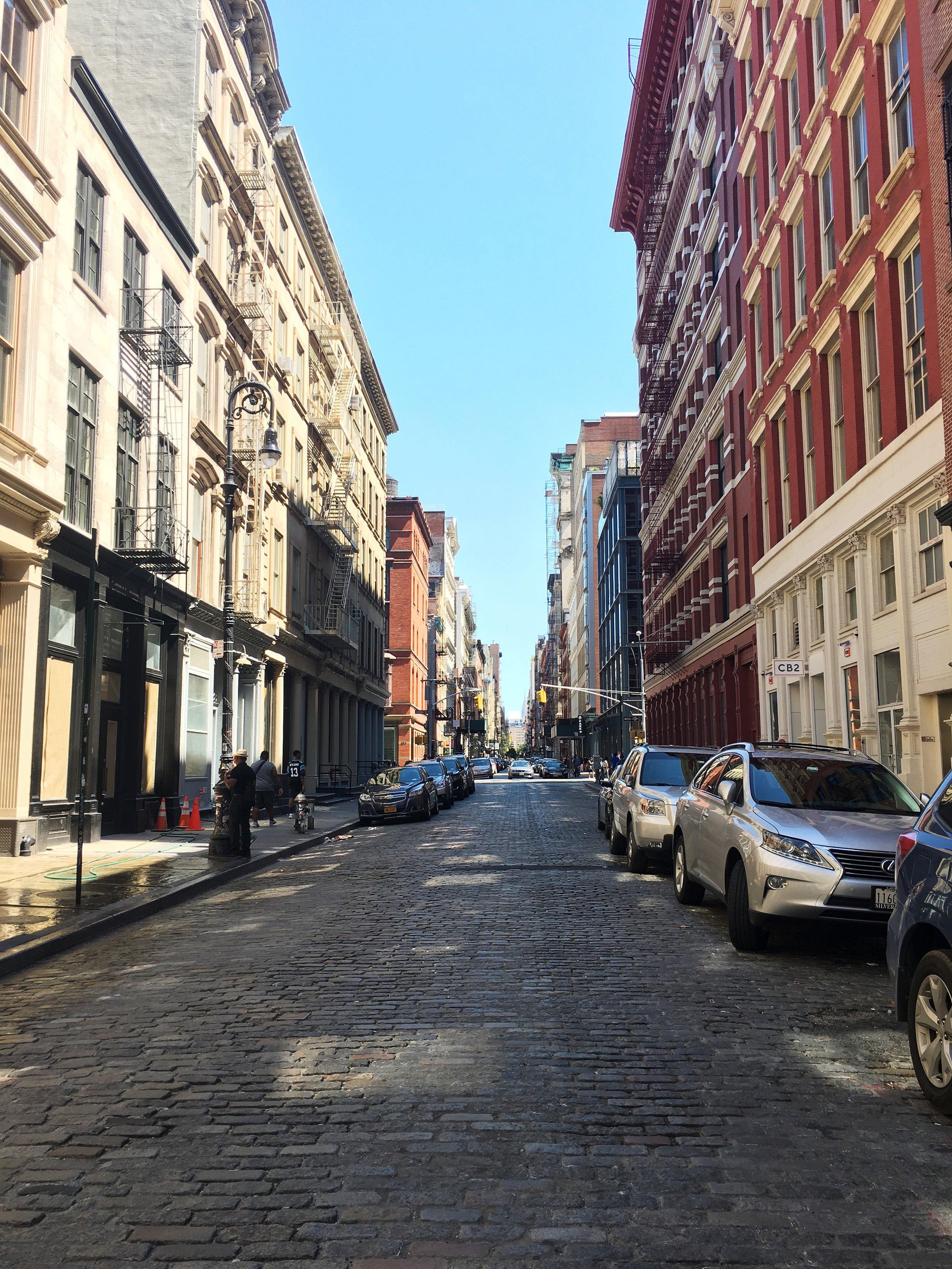 SoHo Streets-- my favorite