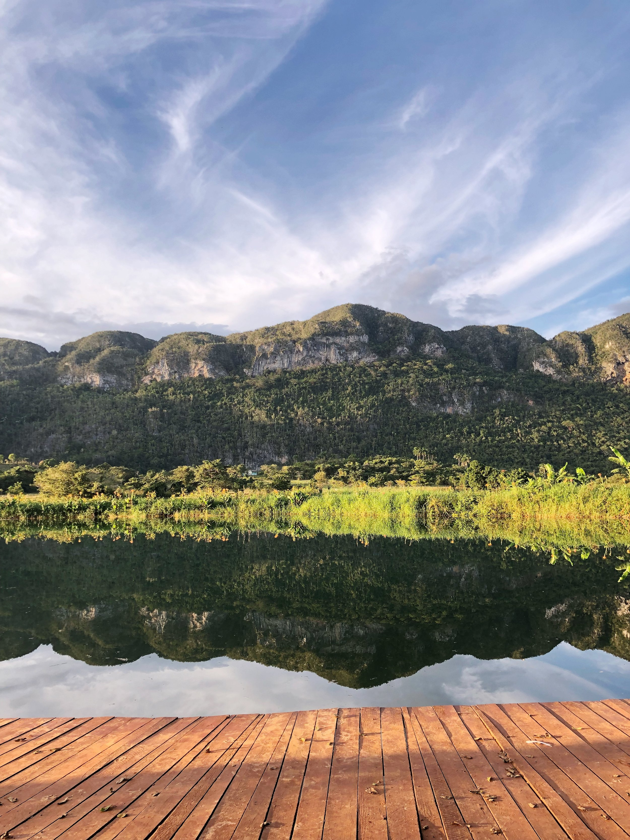 A natural lake--honestly so amazingly beautiful