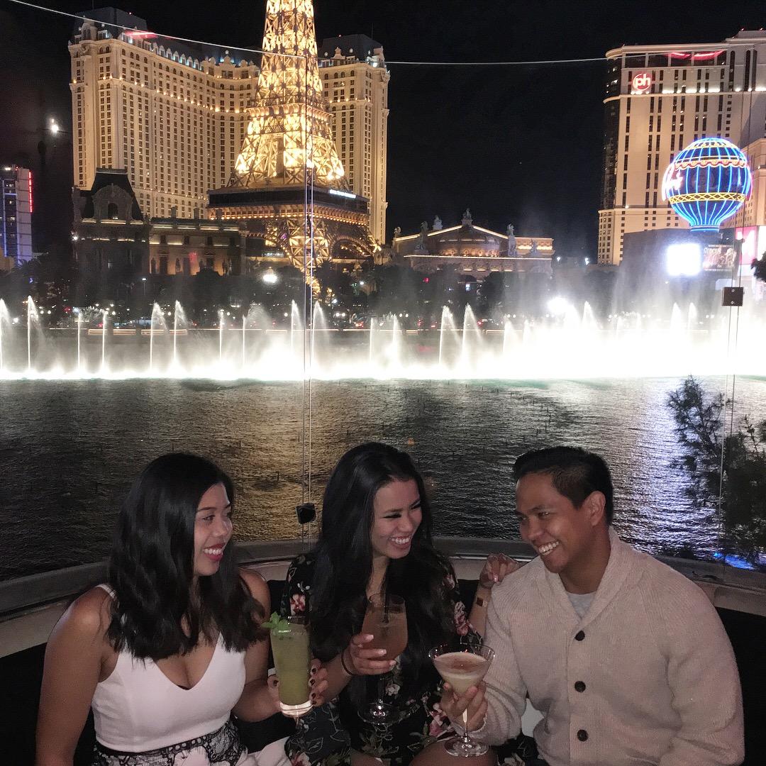 Spent an evening at Hyde Bellagio in  Las Vegas