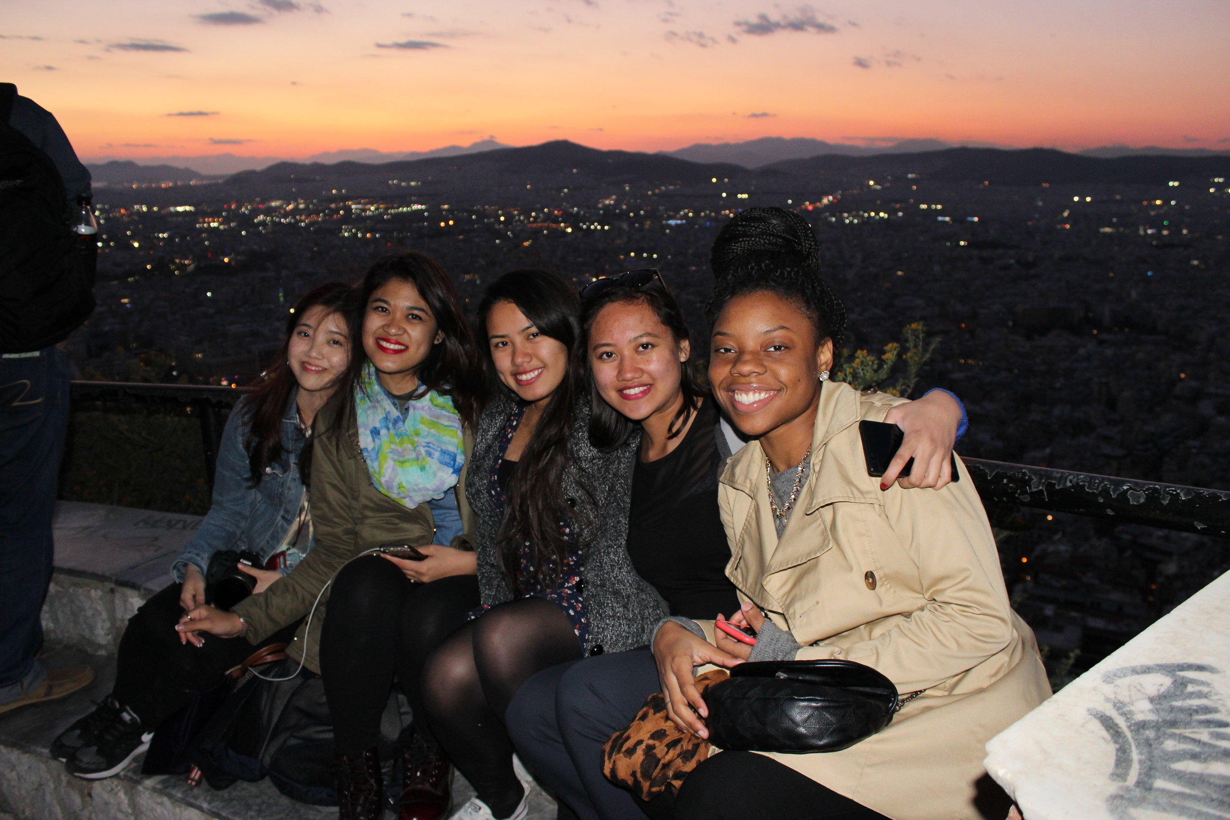 Some of my bestest friends and I became friends because I had researched and planned an entire itinerary to Greece 3 months ahead and randomly asked them if they wanted to come when I first met them.  Guess planning ahead lands you some amazing friends hehe  . [Athens, Greece]