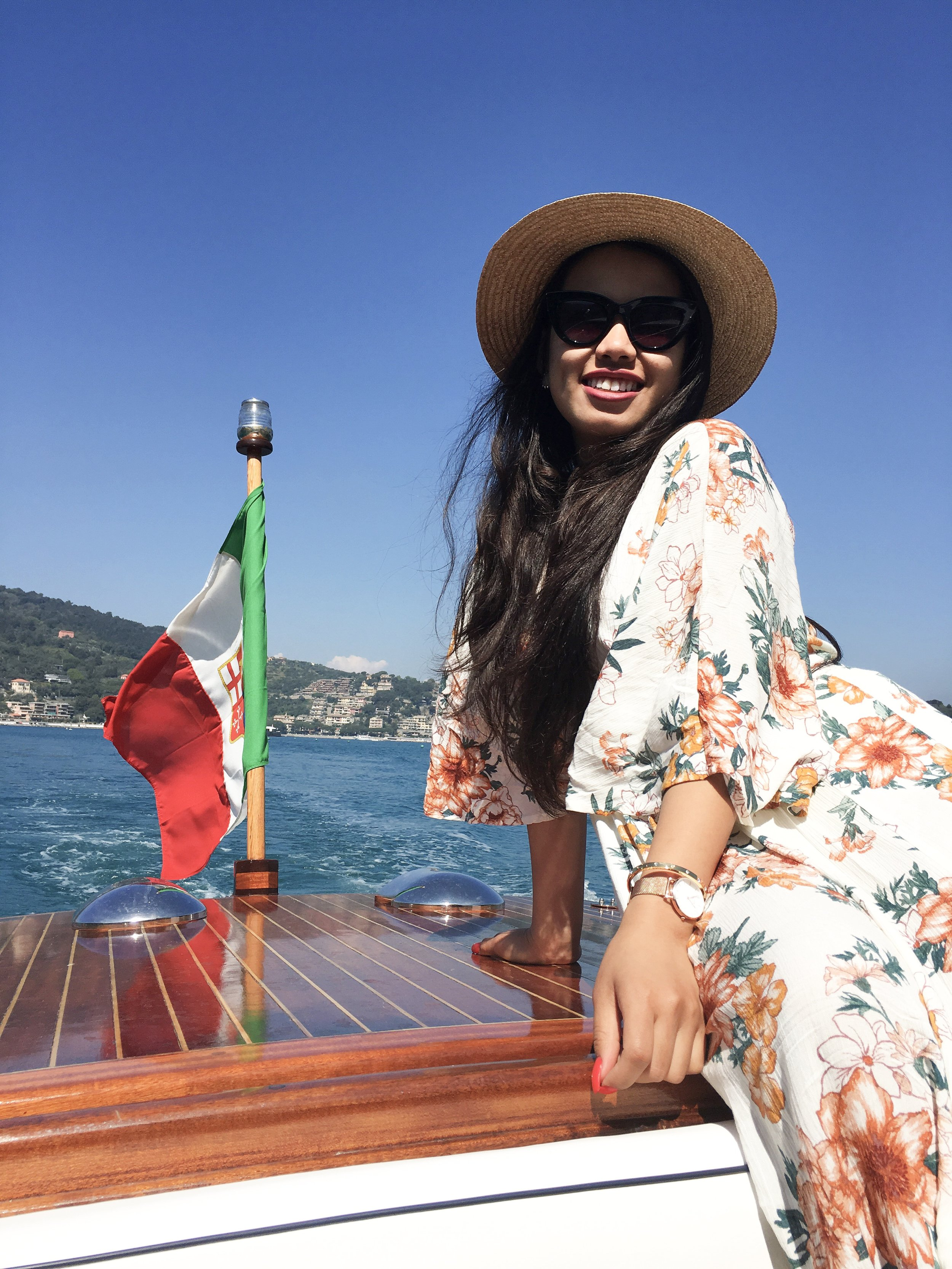 Found out about   how   to get whisked away to lunch on a boat by an Italian man through a blog post I came across while researching for my trip!