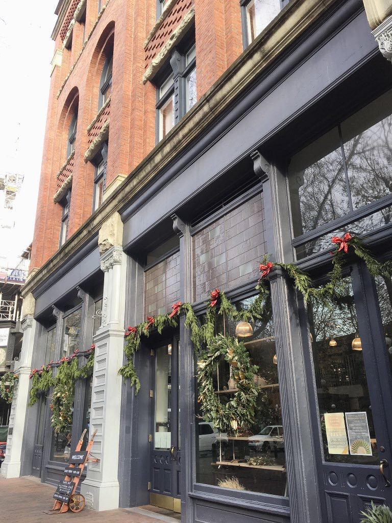 The beautiful exterior of  The London Plane