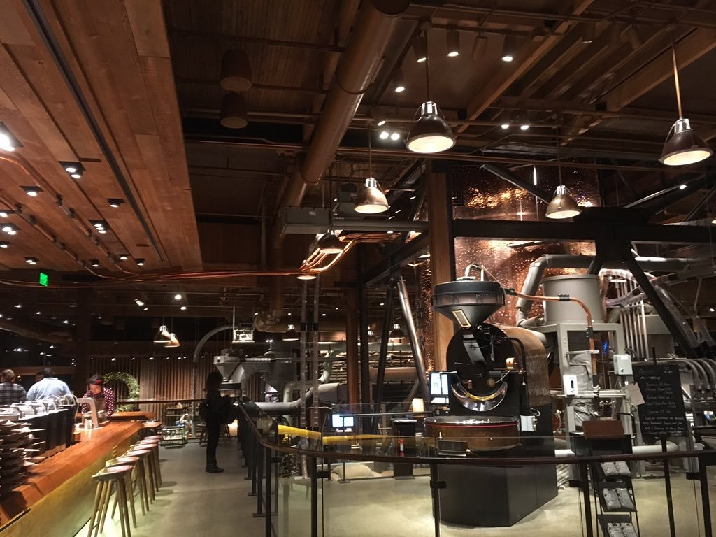 Inside the Starbucks Reserve