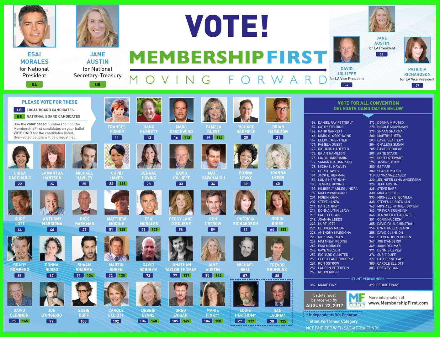 Vote MembershipFirst 2017