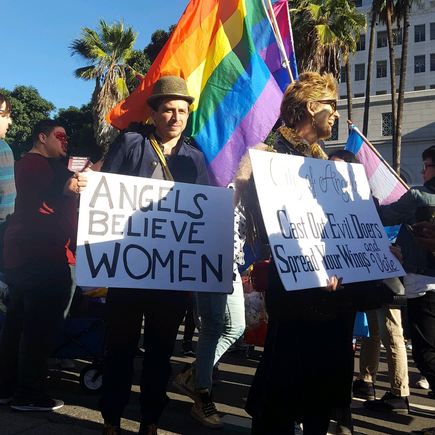 Angel's Believe Women: Max Kleinman - The 2018 Women's March Los Angeles, California