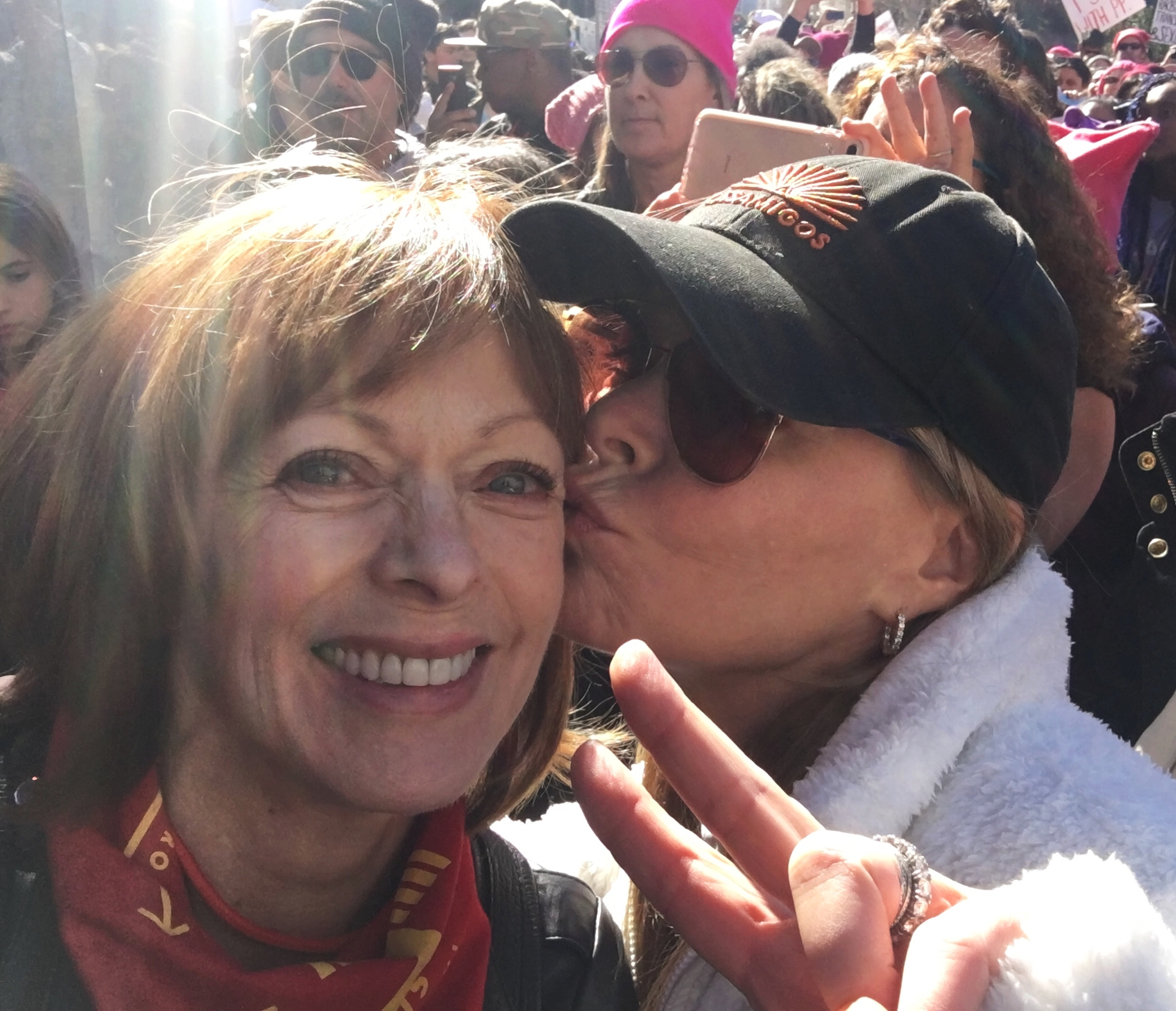 Frances Fisher and Lysa Heslov