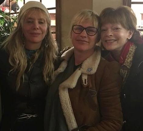 Rosanna Arquette, Patricia Arquette, Frances Fisher  Standing Rock 2016