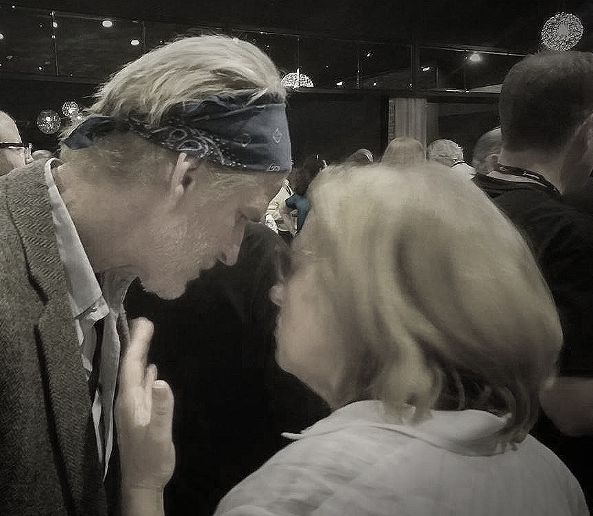Matthew Modine speaks with NY Board member Anne Gartlan at the L.A. Local meet and greet..jpg