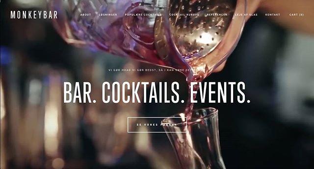 Mangler I baren og bartenderen til nytårsfesten? Så lad @monkeybardk hjælpe jer 🍸🍹🐒 #mobilbar #party #fest #bartender #monkeybar #event #eventplanning #newyears #nytår