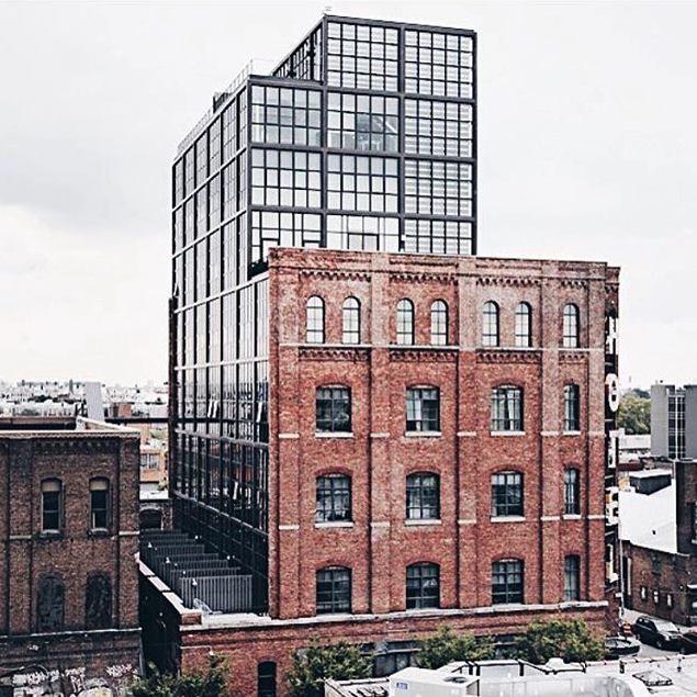 THE WYTHE HOTEL - LOCATED RIGHT ACROSS FROM THE VENUE.$100 off regular rates for attendees.BOOK NOW