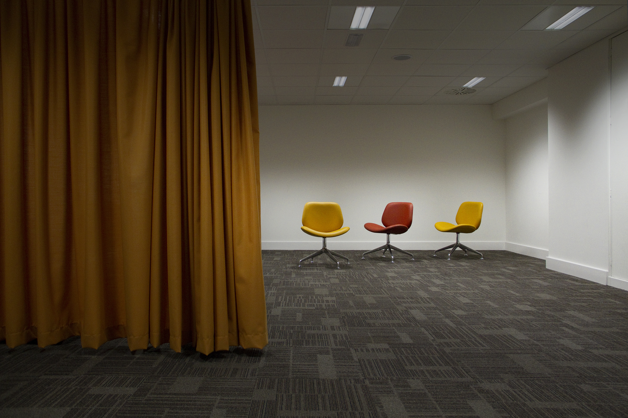 Heathrow Prayer Room, London 2011 - (Lobbies Project)