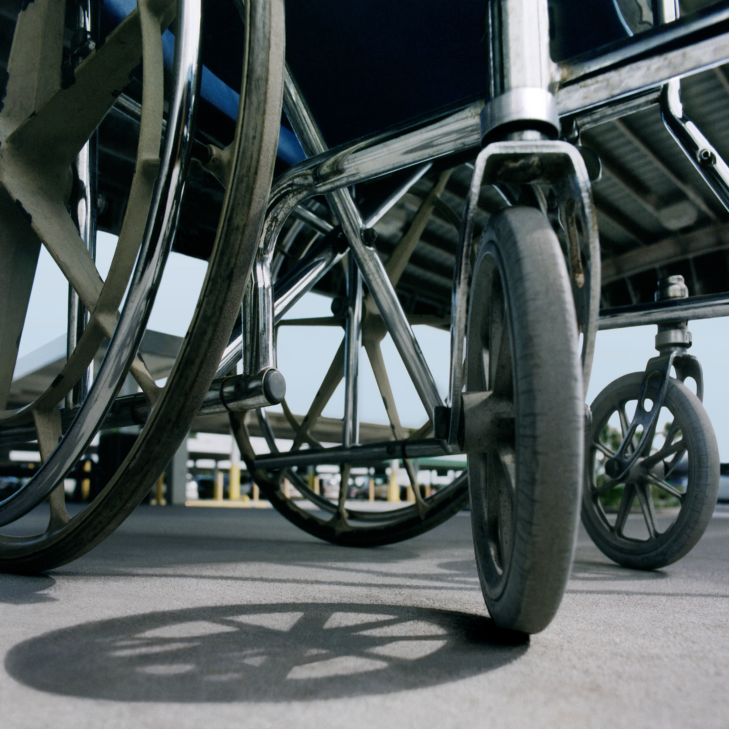 Wheelchair, Fort Myers, Florida 2003 -