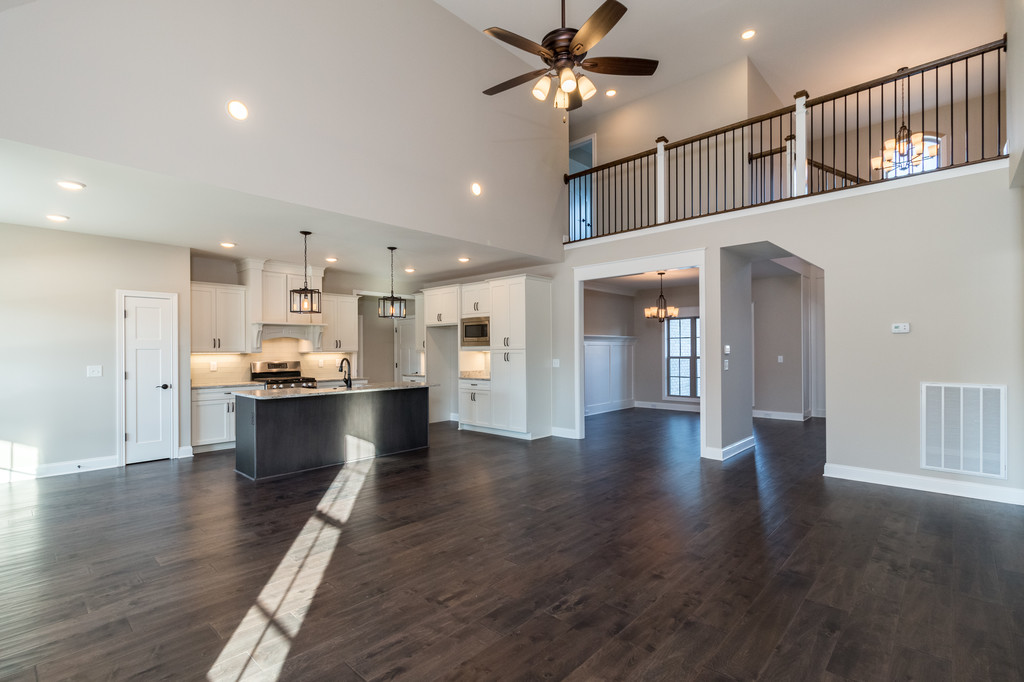 Large Open Concepts - We design homes around how people live. Large, open concepts give the homeowner the ability to entertain as well as be close to the family.