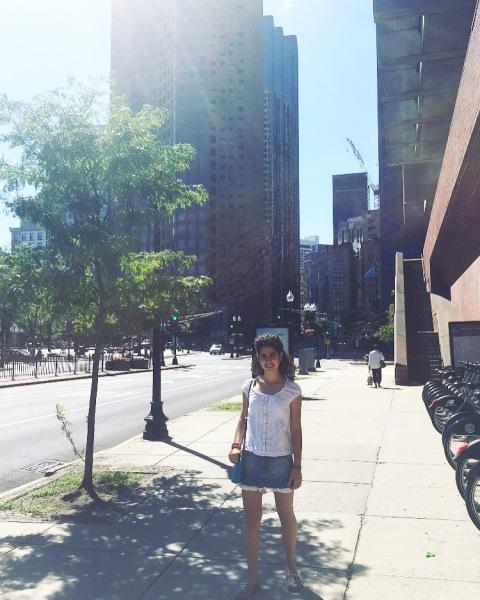Martina in Boston.