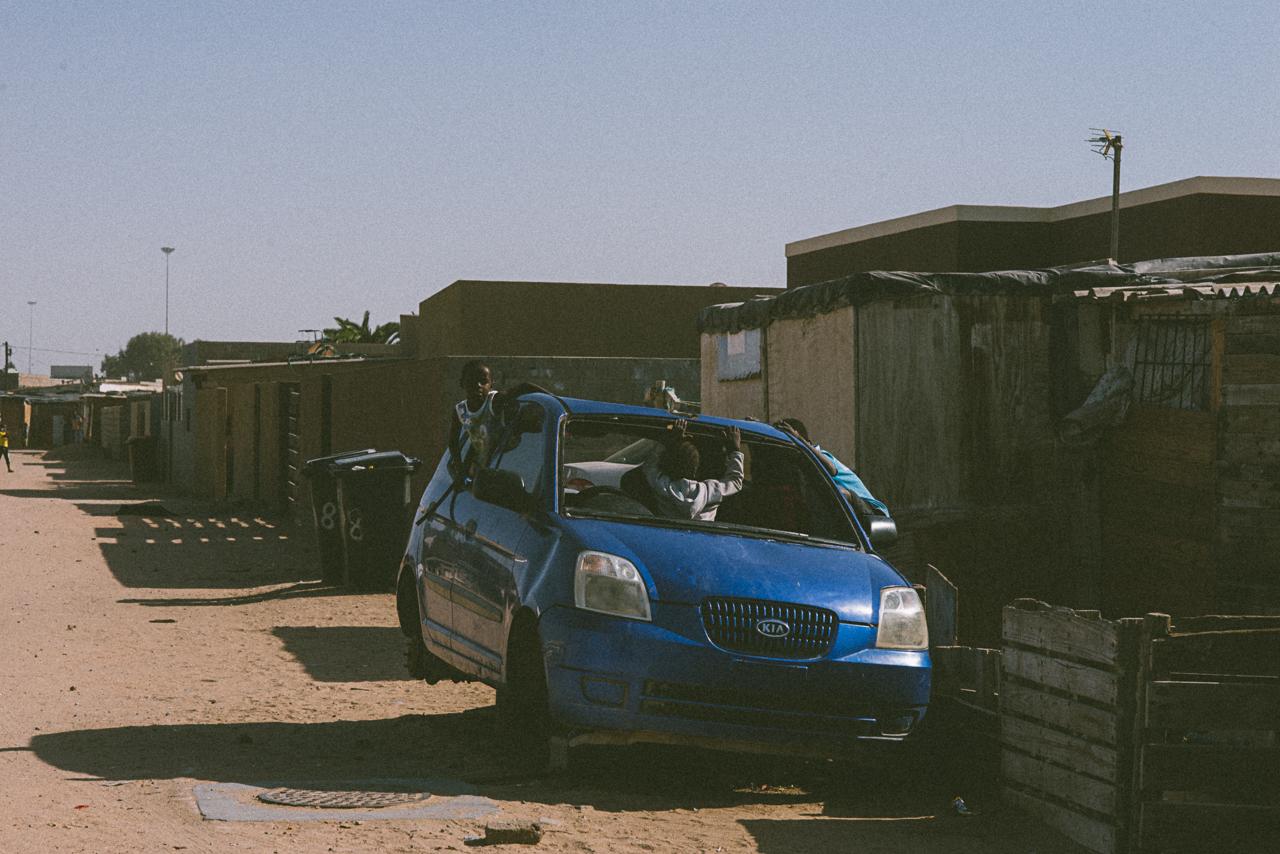 Scenes from the 'location' in Swakopmund