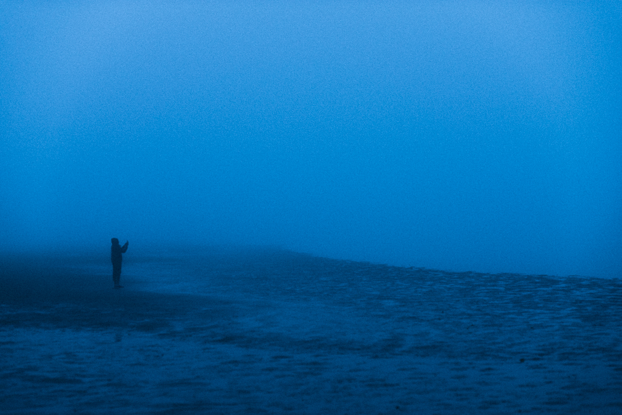 Foggy morning photography mission on the shores of the Atlantic. Walvis Bay. We were lucky to watch dolphins feeding here for more than an hour