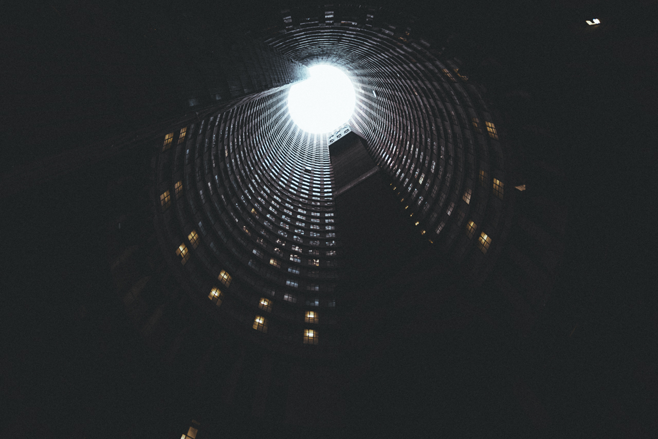 Inside Ponte towers