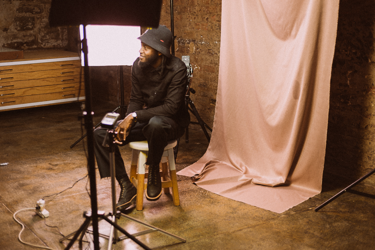 Shooting an interviewing one of South Africa's dopest creatives, Justice Mukheli, in his studio in Joburg