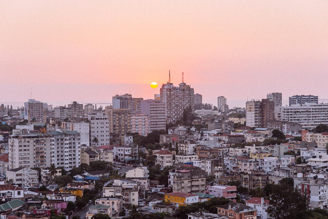 Aerial view of Maputo