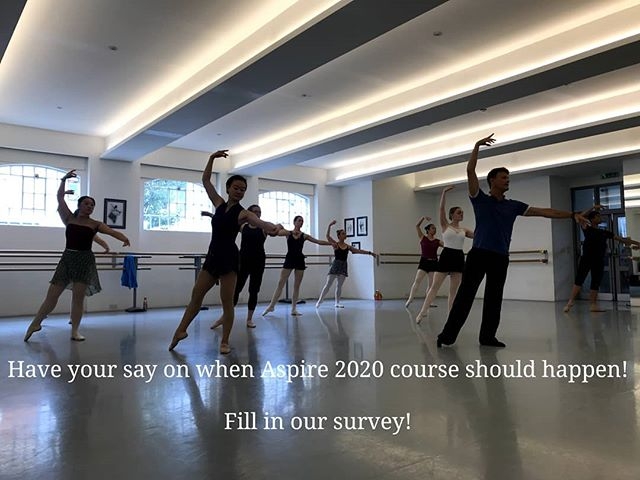 Throw back to last week in class with @scottputman_ebas at #AspireBallet2019 . Missed out this year and want to join next year? Fill in our survey and have your say! https://www.surveymonkey.co.uk/r/X6J9QYH Link also in bio. Thank you! 🙏🙏🙏 #adultballetintensive #AdultBallet