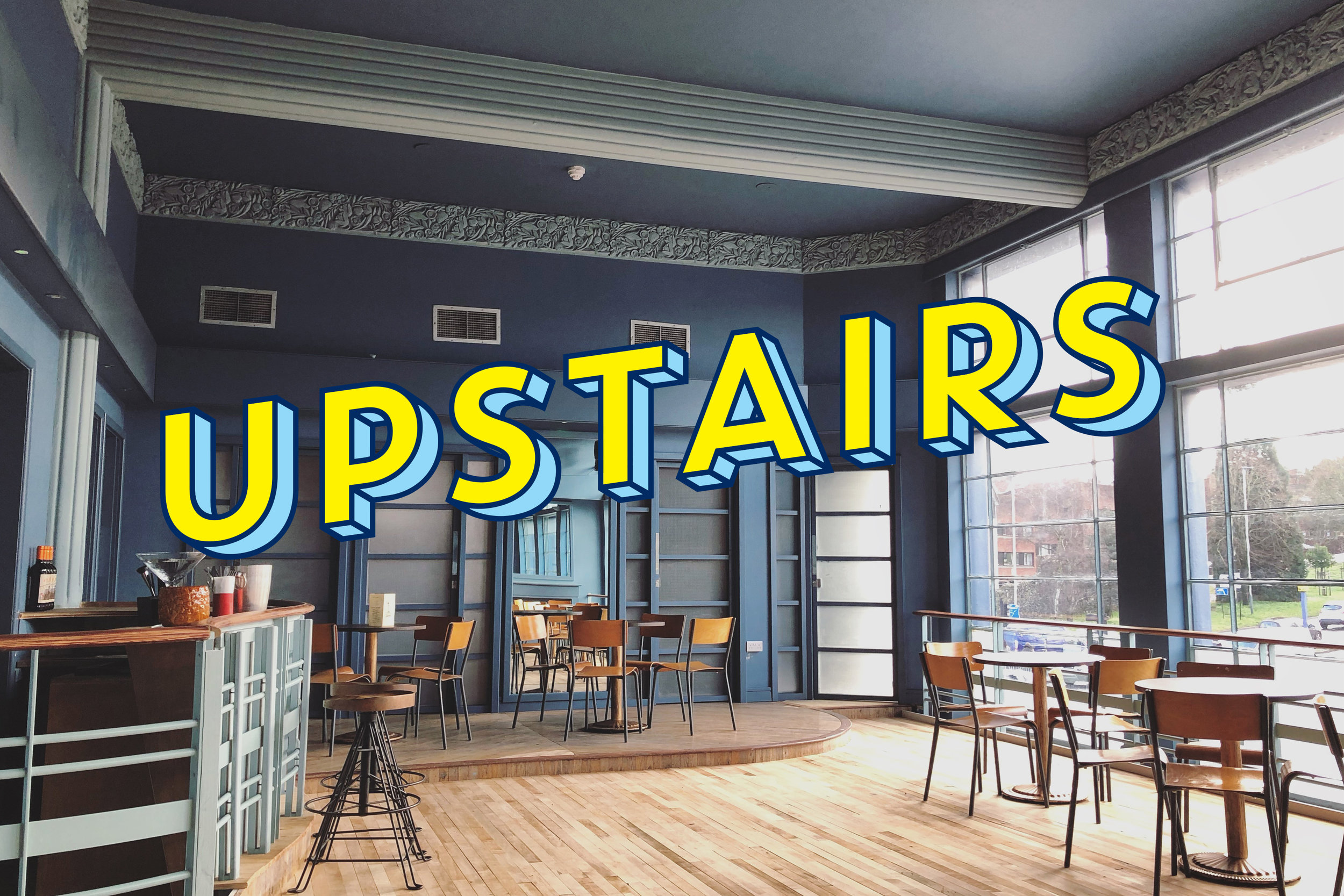 Hire our upstairs room with a minimum spend of £350    More Info