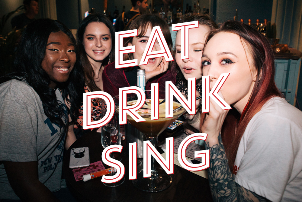 EAT, DRINK & SING / £27pp  /   2 Hours of Karaoke, Banquet Menu & Dessert    Click here   to view our Banquet Menu    BOOK NOW
