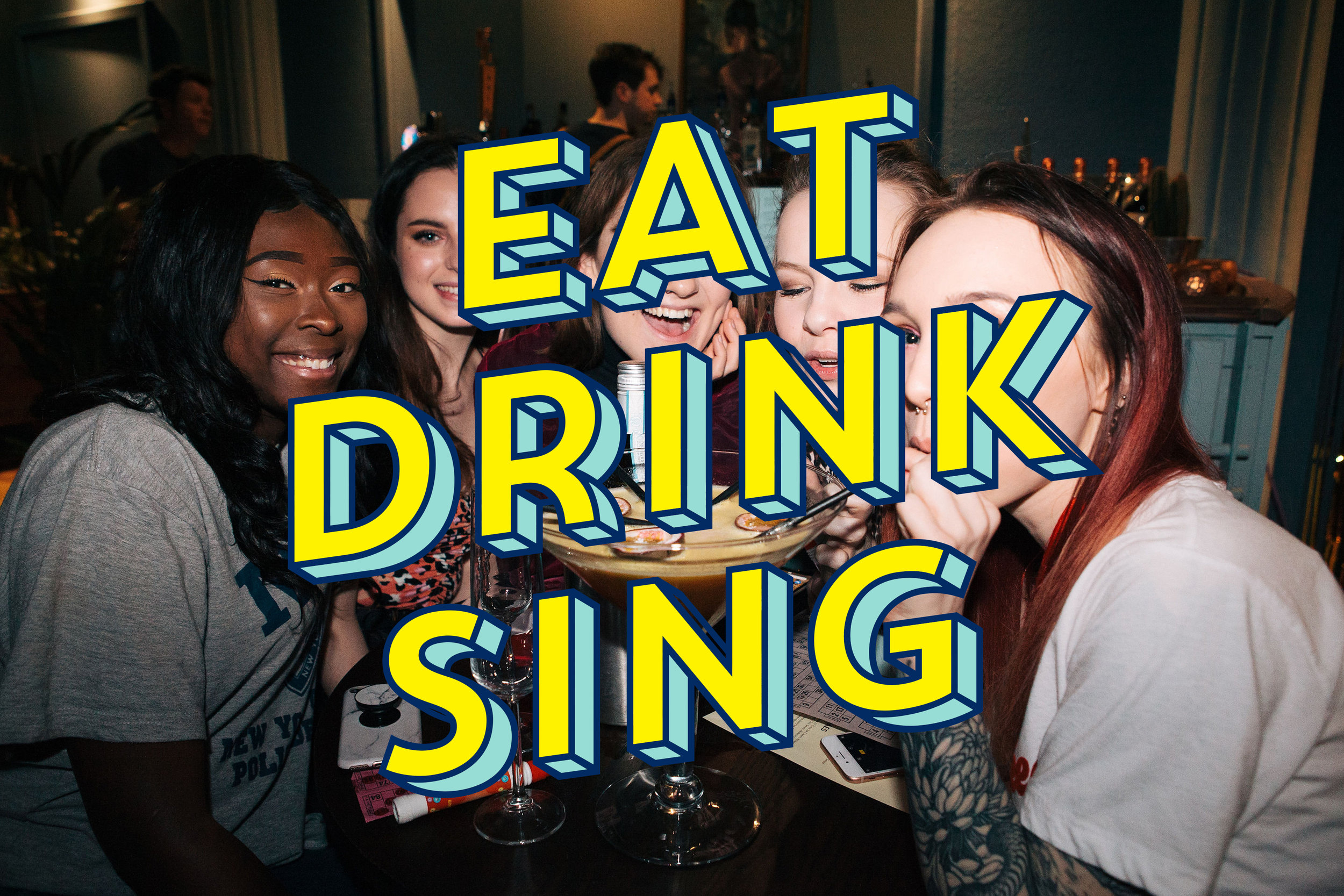 EAT, DRINK & SING PACKAGE   2 Hours of Karaoke, Set Menu & Drink //  £25 per person     Click here   to view our set menu.    BOOK NOW