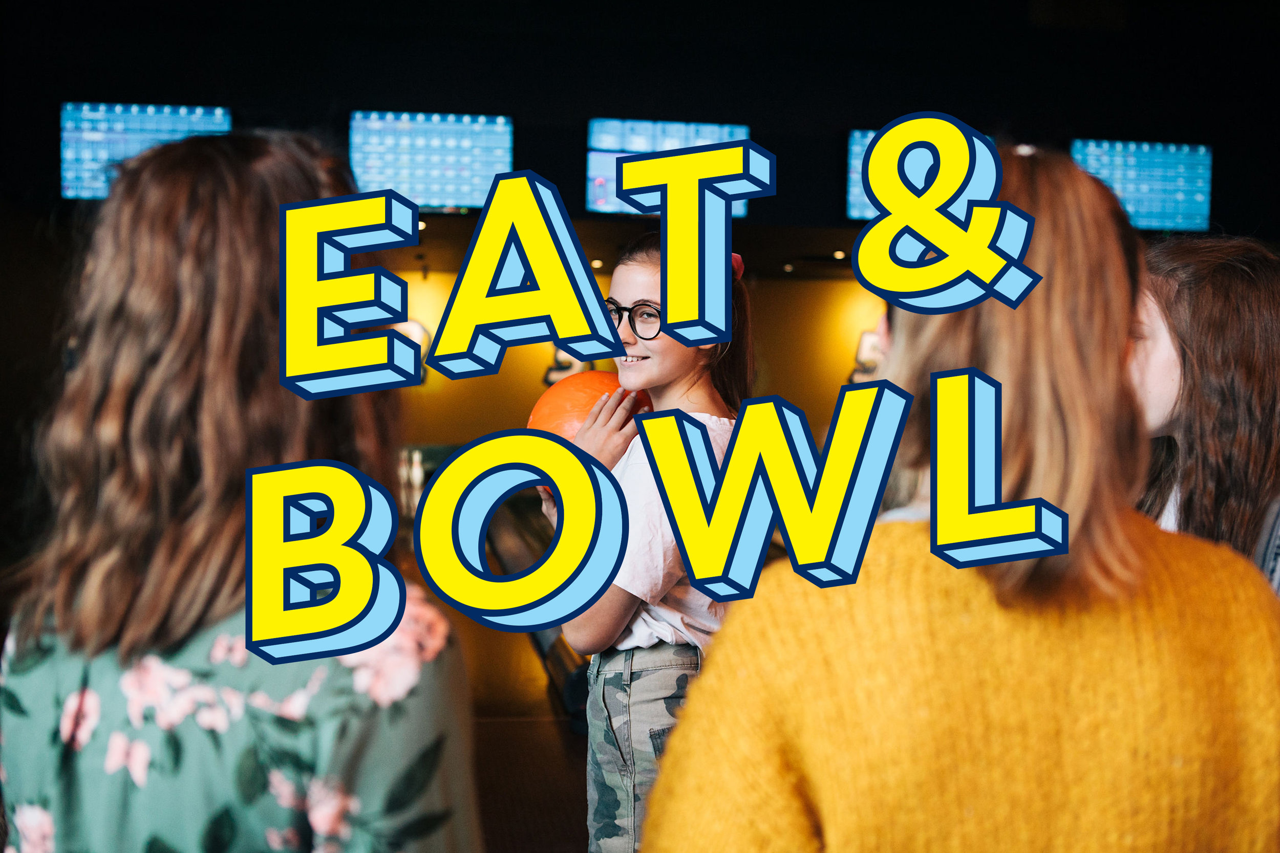 KIDS EAT & BOWL £14.95 / 2 Games, Main & Dessert / Tue - Sun until 7pm  Kids can play two games of Bowling and enjoy a Kids Main and Dessert for only £12.    Book Now