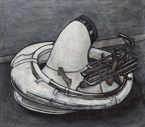 Tuba (Setting Up) , 2014