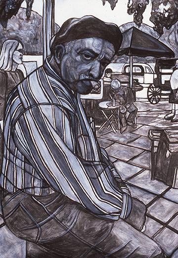 Big Man with Cigar, 2000