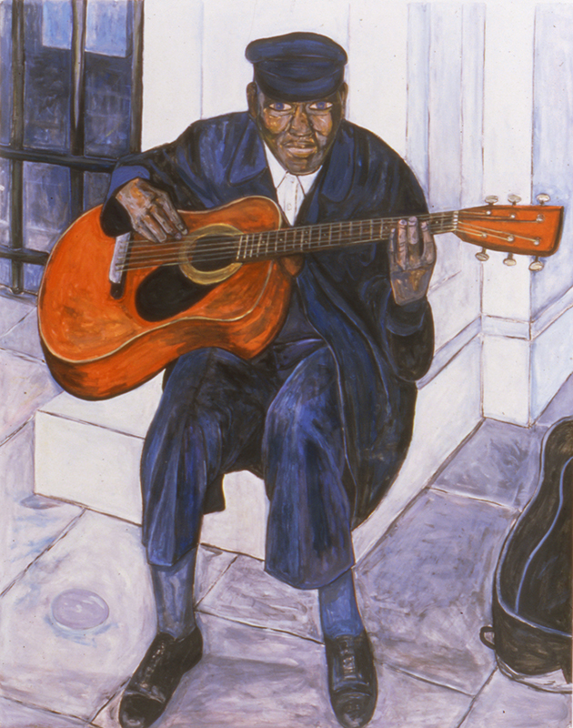 Street Musician with Guitar, 1999
