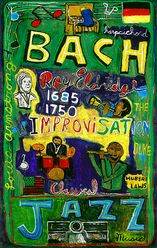 What's the Relationship  Between Bach and Jazz, 1994