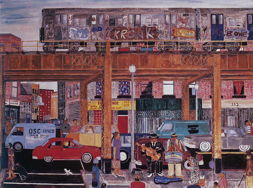 Music Under the El, 1986