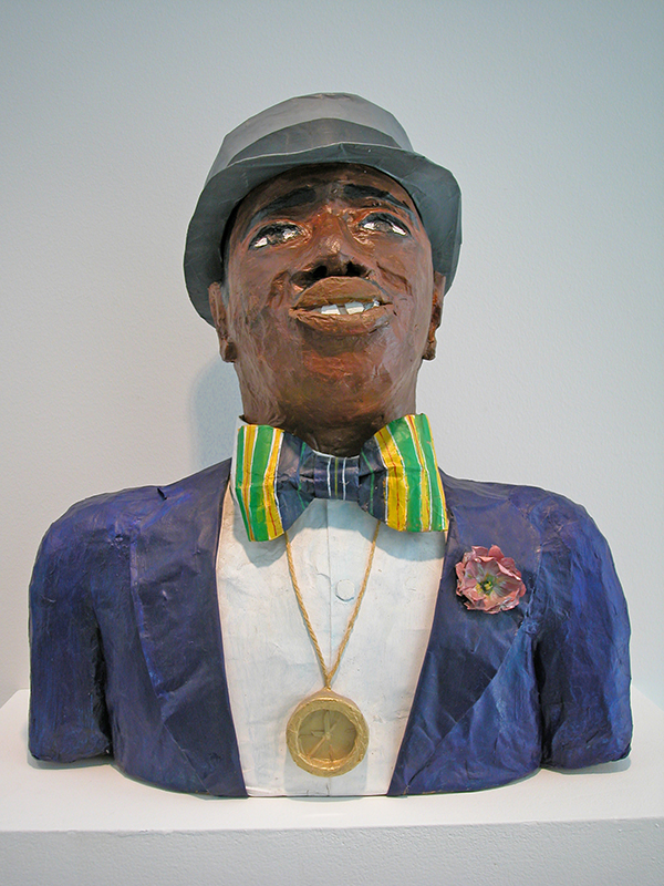 Man with Bow Tie  and Hat, 1991