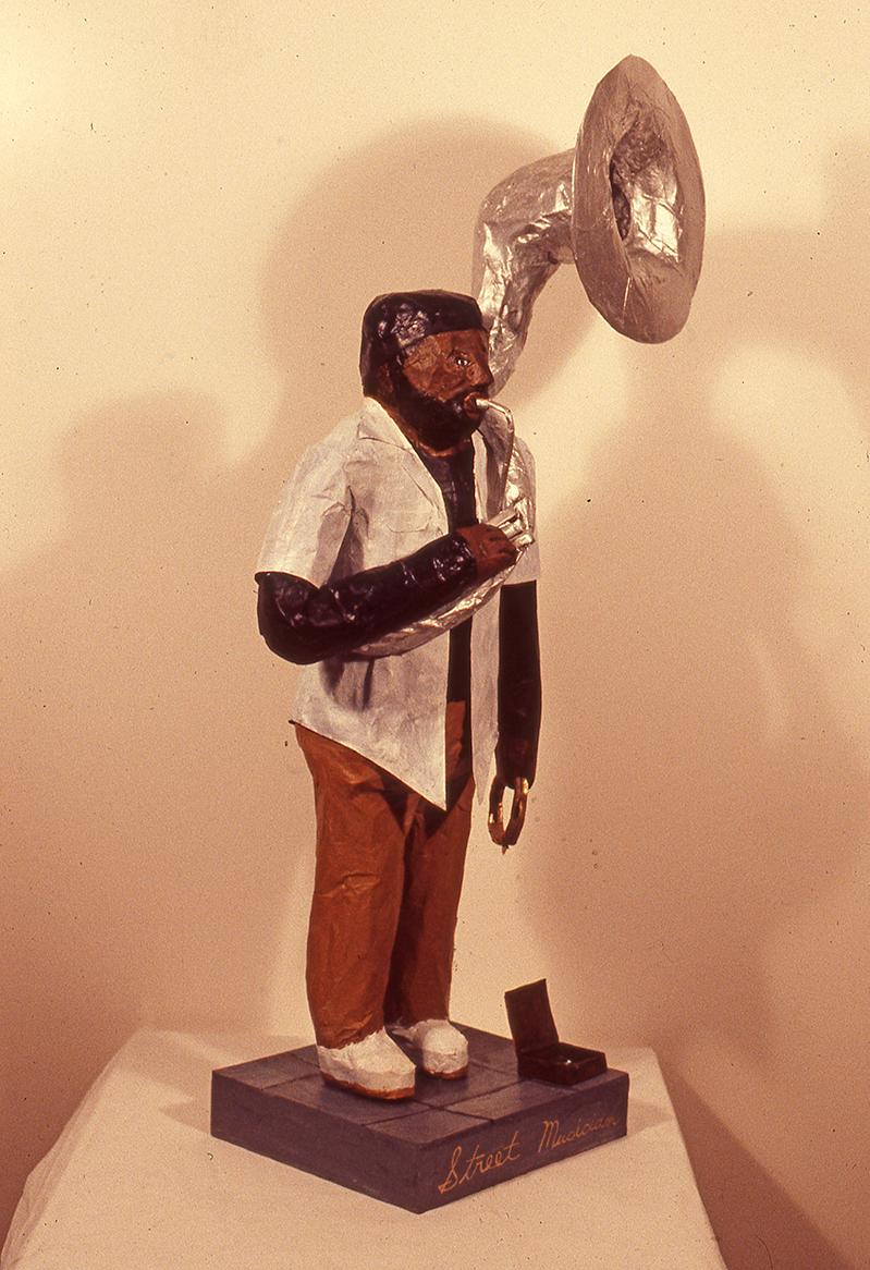 The (Street) Musician Tuba Fat, 1989
