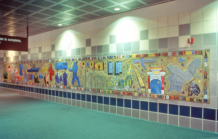 Untitled mural, 2004