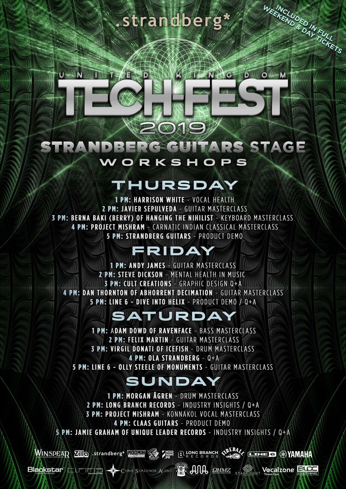 TECH FEST WORKSHOPS 2019 -